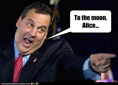 alice Chris Christie the honeymooners to the moon - 6552252160