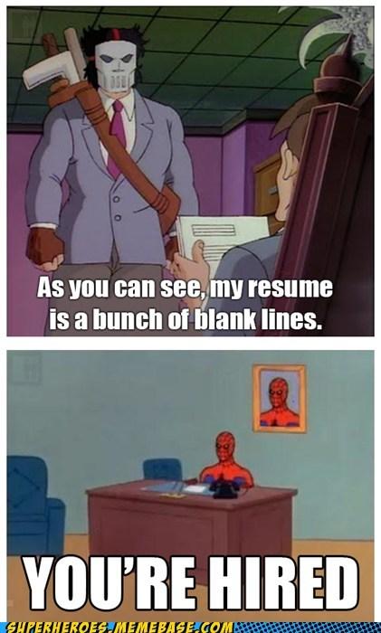 casey jones job offer Spider-Man TMNT - 6552259840