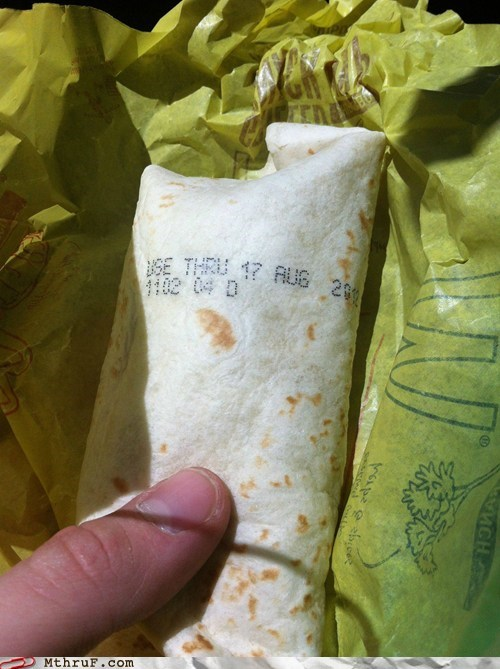 breakfast burrito McDonald's wat - 6552303104