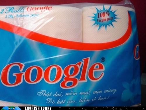 google,paper,toilet paper