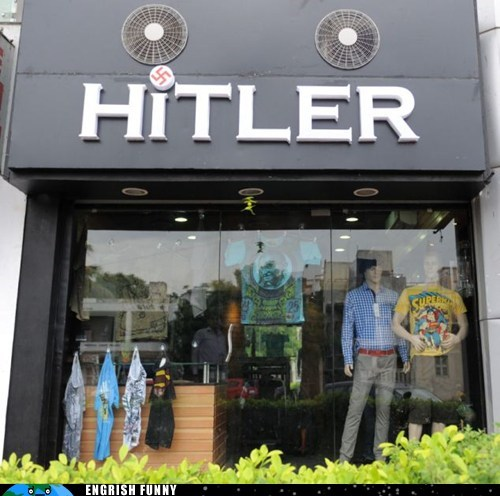 bad idea hitler nazi store whoops