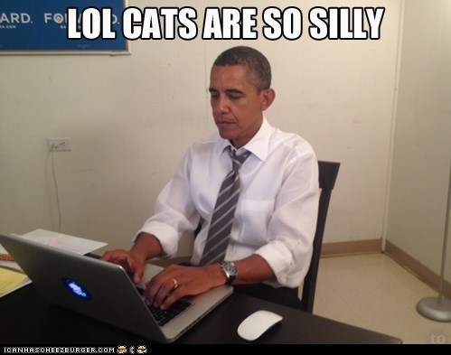 barack obama,captions,lolcats,politics,president,Reddit,silly