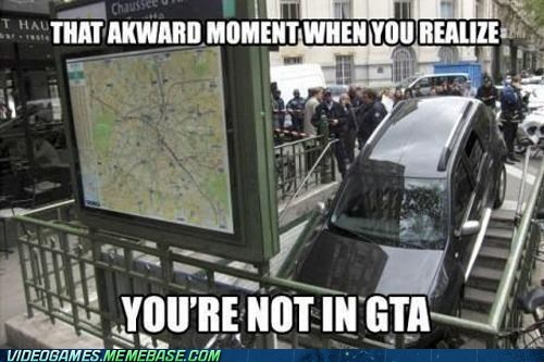 car Grand Theft Auto IRL terrible parking ur a genius - 6552407296