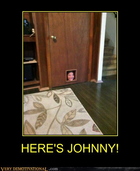 door face johnny scary shining