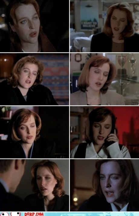 derp,Scully,the x-files,TV