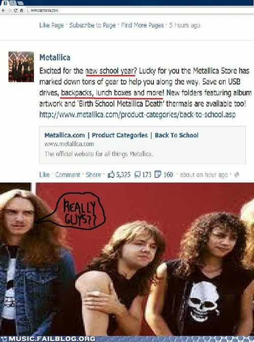 facebook merchandise metallica school - 6552651776