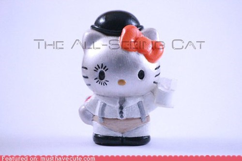 alex delarge,clockwork orange,figurine,hello kitty