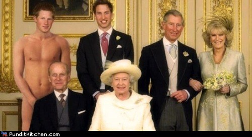 Camilla Parker-Bowles embarrassing family photo prince charles Prince Harry Prince Philip prince william Queen Elizabeth II royal family - 6552769536