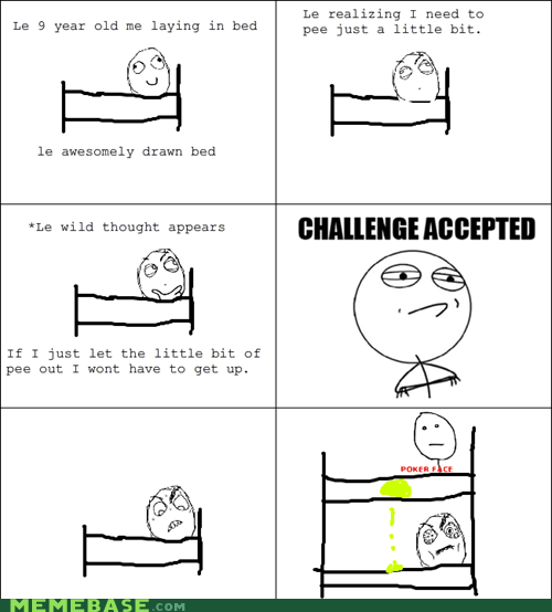 Challenge Accepted peetimes poker face - 6552788992