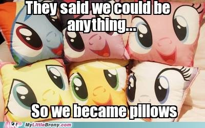 cute IRL pillows want we could be anything - 6552827136