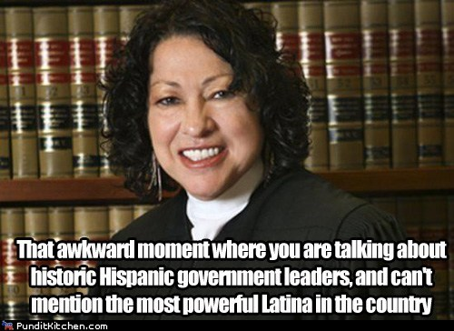 mention rnc sonia sotomayor that awkward moment