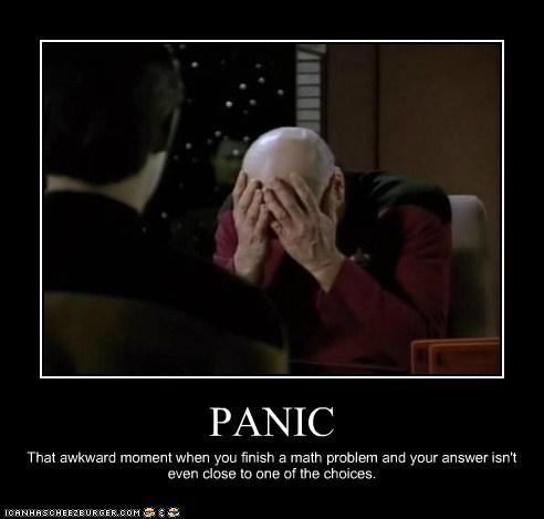 brent spiner Captain Picard data math multiple choice not even close panic patrick stewart test - 6553042944