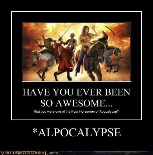 apocolypse,thats the joke,weird al