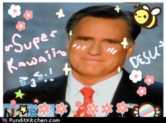 anime cute desu Mitt Romney super kawaii - 6553286144