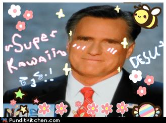 anime cute desu Mitt Romney - 6553286144