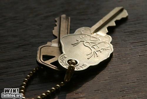 design finger key the bird - 6553517568