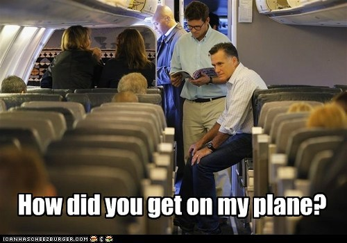 airplanes confused how did you get up there Mitt Romney plane socialist - 6553589248