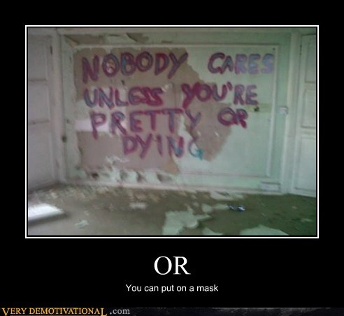 mask nobody cares pretty - 6553662208