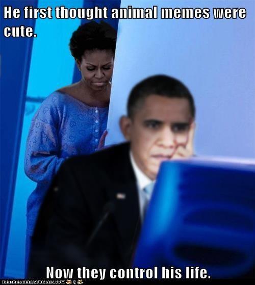barack obama computer cute Michelle Obama obsessed redditors-wife - 6554125056
