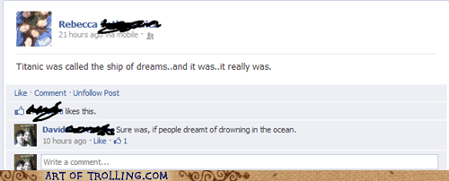 dreams,facebook,titanic