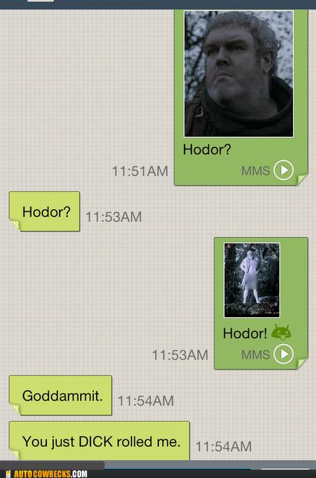 d rolled Game of Thrones gross hodor - 6554374912