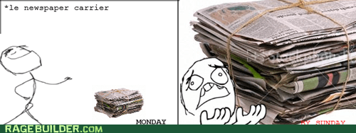 paper carrier rage