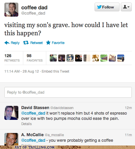 coffee dad dead twitter - 6554430976