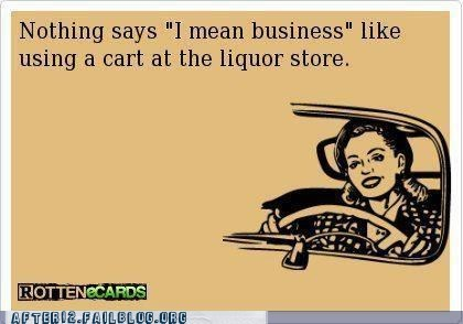 got to stock up i mean business liquor store - 6554446080