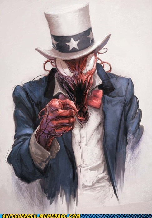 carnage,creepy,Uncle Sam