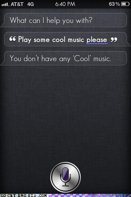 burn,cool,iphone,Music,siri