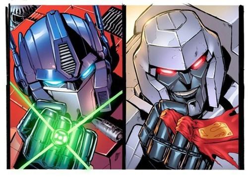 DC JLA justice league transformers - 6554587648