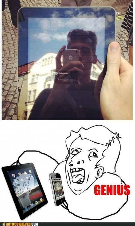 genius,ipad,photos,reflection,self poortraits