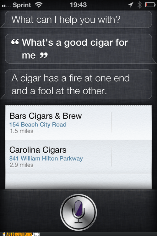 cigars judging me siri smoke shop smoking
