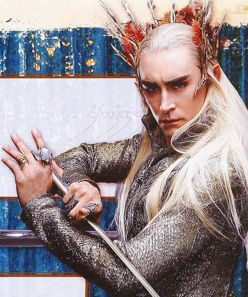 lee pace legolas Pushing Daisies thanduil The Hobbit - 6554625280