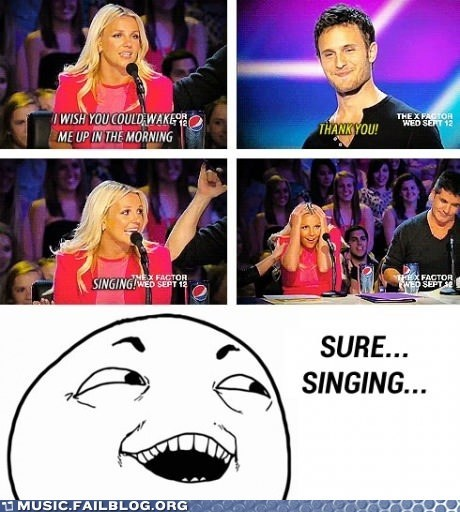 American Idol britney spears freudian slip - 6554656512