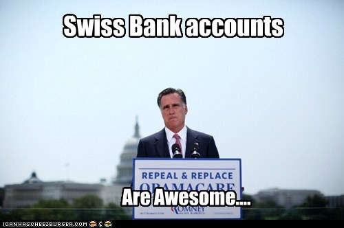 Swiss Bank accounts Are Awesome....