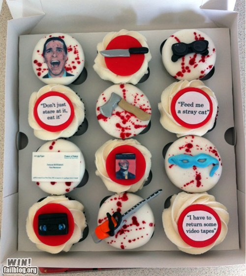 actor,american psycho,best of week,celeb,christian bale,cupcakes,food,Hall of Fame,Movie,pop culture