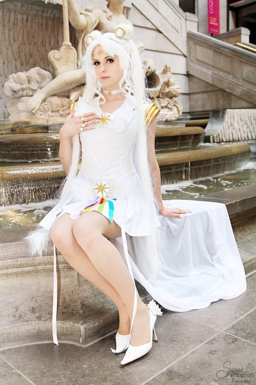 cosplay,sailor cosmos,sailor moon