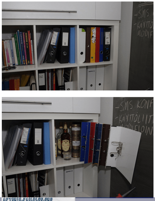 hidden alcohol liquor cabinet liquor shelf shelf - 6554974720