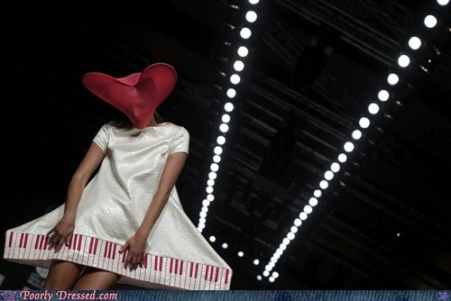 dress keyboard runway wtf - 6555186176