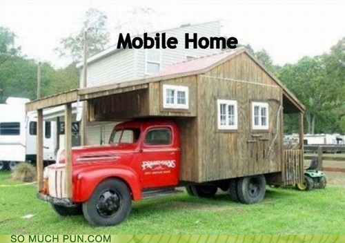 double meaning home literalism mobile mobile home - 6555226368