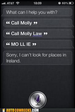 do it myself,Ireland,molly,siri