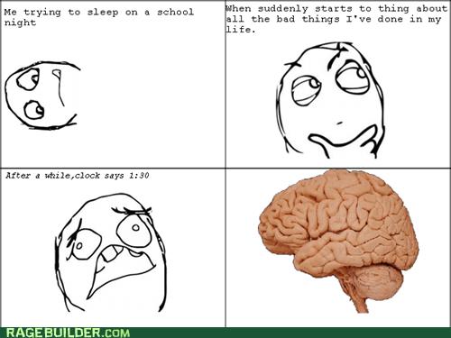school nights school scumbag brain sleeping truancy story - 6555713280