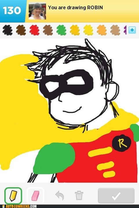 boy wonder draw something robin sidekicks superheroes - 6556127488