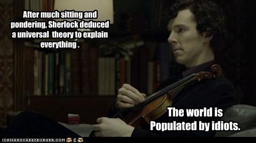benedict cumberbatch idiots pondering sherlock bbc sherlock holmes sitting theory - 6556380160