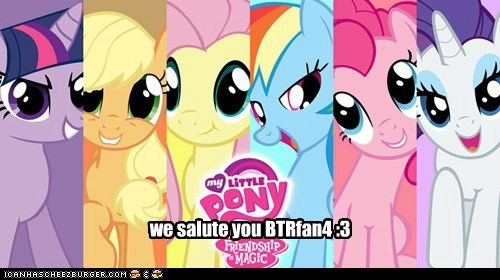 we salute you BTRfan4 :3