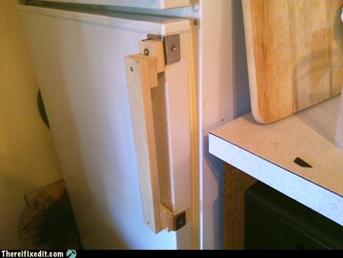 carpentry door handle refrigerator