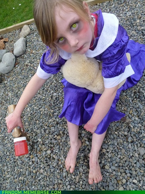bioshock,cosplay,little sister,video games