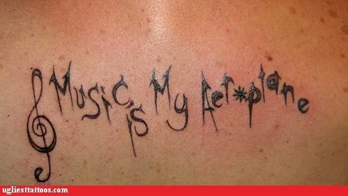 aeroplane,red hot chili peppers,treble clef