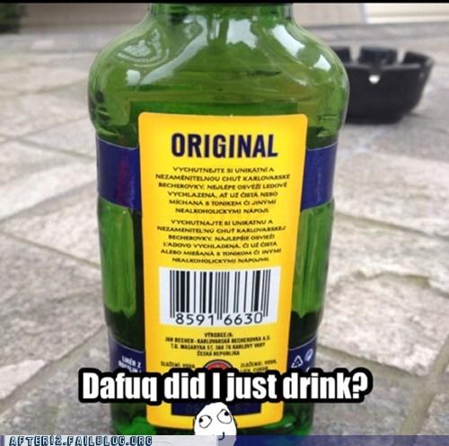 dafuq what did i drink russian